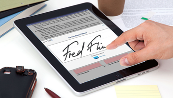 e-Signatures for Real Estate - Right At Home...