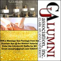 CAUAA-NY Fundraising Raffle: Guerlain Spa Package at the Waldorf...