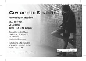 Cry of the Streets - An Evening of Freedom