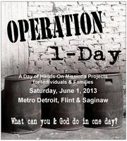 Operation 1-Day Saginaw