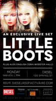Little Boots In-Store Performance at Diesel SoHo -...