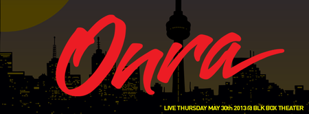 ONRA (All City, FRA), Live @ BLK BOX THEATRE