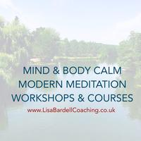 SOLD OUT STOCKPORT Mind CALM Modern Meditation Workshop