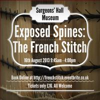 16th August: Exposed Spines: The French Stitch