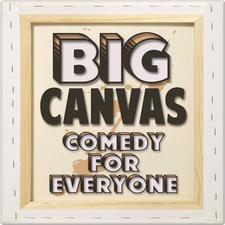 Big Canvas. Comedy for Everyone. logo