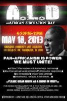 African Liberation Day Washington DC 2013