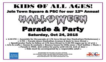 Greenpoint Children's Halloween Parade & Party 2015
