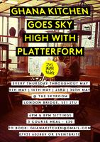 Zoe's Ghana Kitchen goes Sky High 23rd May