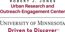 University of Minnesota Robert J. Jones Urban Research and Outreach-Engagement Center logo