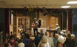 Year End Potluck Dinner, Fiddle Jam & Dance with Daniel Lapp