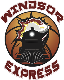 WINDSOR EXPRESS BASKETBALL TEAM logo
