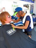 Wahl Mobile Barbershop at Art&Jazz Festival, Looking...