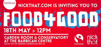 #Food4Good - Nickthat.com's Official launch event with...