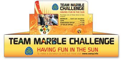 Purple Team 2015 Team Marbles Challenge practice