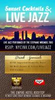 Sunset Cocktails & Live Jazz over Lincoln Center