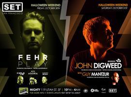 Huge Halloween Weekend with John Digweed, Fehrplay,...