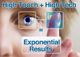 High Touch + High Tech = Exponential Results