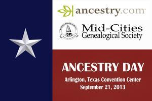 Ancestry Day 2013