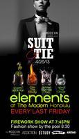 ELEMENTS AT THE MODERN-May 31st!