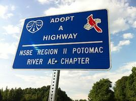 NSBE Potomac River Professionals Adopt-a-Highway...