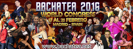 V BACHATEA WORLD CONGRESS 2016 - 17 AL 21 de febrero .