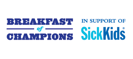 Breakfast of Champions in support of SickKids 2015