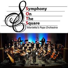 Marietta's Symphony On The Square logo