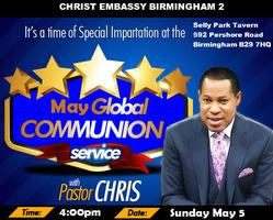 May 2013 Global Communion Service with Pastor Chris