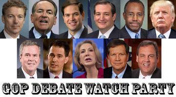 GOP Debate Watch Party