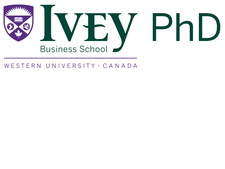 Ivey Business School - PhD in Business Administration Program logo