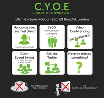 C.Y.O.E - Choose Your Own Event