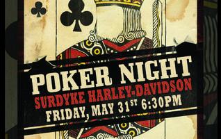 Charity Poker Night at Surdyke Harley-Davidson