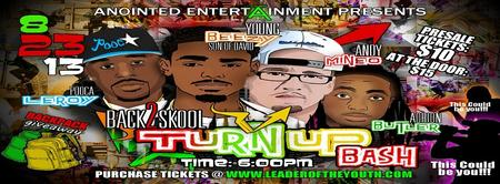 Back to School Turn UP Bash