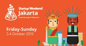 Startup Weekend Jakarta 2015