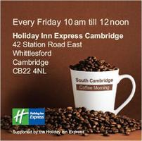 South Cambridge Coffee Morning (Midmorning Networking - July...