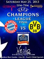 Champions League Finals & Outdoor Beer Garden Sponsored by Sam...