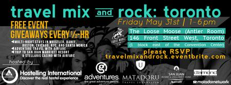 Travel Mix & Rock: Toronto