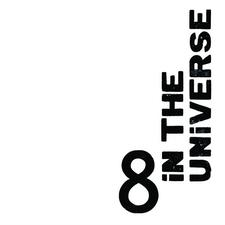 8 in the Universe logo