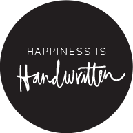 Happiness is Handwritten - The Joyful Letter Writing...