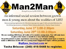 Man2Man- Mentor Session for Young Men