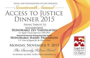 17th Annual Access to Justice Dinner