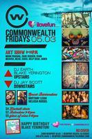 I <3 Fun Fridays @ Commonwealth Newport Beach