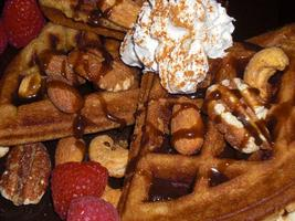 Vegan Waffle Dessert Party & Optional Snuggle