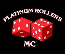 Platinum Rollers Motorcycle Club logo