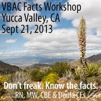 Yucca Valley VBAC Facts Workshop with Jen Kamel