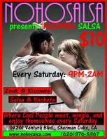ZOUK & KIZOMBA SOCIALS in The Valley Every Saturday