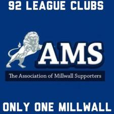 Association of Millwall Supporters.  logo