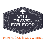 Will Travel for Food logo