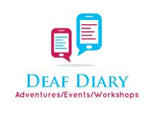 Deaf Events Diary  logo