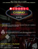 Team Chanel Casino Night Charity Fundraiser to benefit the...